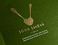 1000 JótEvő Restaurant - brand identity