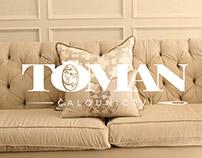 Toman Upholstery Identity