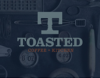 TOASTED | Restaurant Branding