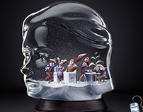 Estilo 3D _ SNOW HEADS