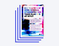 """NYU High School Mailer"""