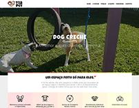 Pet DayCare website design