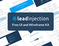 Leadinjection Free UI and Wireframe Kit