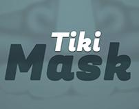 Tiki Mask Vector Illustration