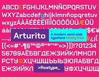 Arturito - Typeface (Free)
