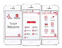Mobile App Redesign for Bank Muscat