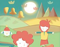 Riverside Games - An Affinity Designer Illustration