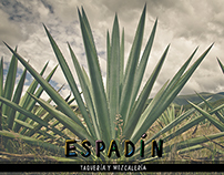 Espadín Branding and Menu