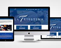"Website ""La Triestina"""