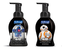 Softsoap Star Wars Foaming Hand Soap Collection