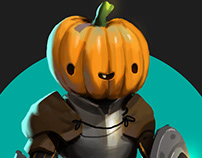 The Pumpkin Knight
