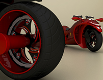 Vipers - 3D Concept Bike Design