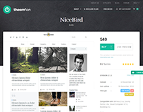 NiceBird Magazine WordPress Theme