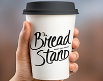 THE BREAD STAND | Hand Lettering Logo & Identity Design