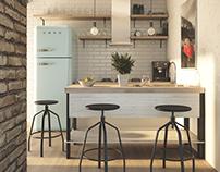 Kitchen interior / 2017.01.06.