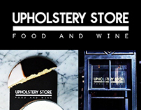 Upholstery Store, NYC - logo design