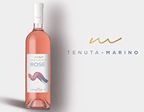 Diseño de etiquetas para Tenuta Marino