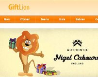 Web site/Giftlion