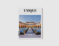 Unique Hotel Spa magazine