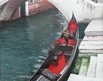 Venice oil on canvas