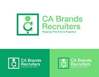 CA Brands Recruiters Logo Design By Designrar