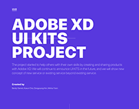 Adobe XD UI Kits Side Project