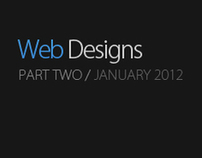 Web Designs - Part 2