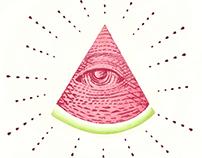Watermelon Illuminati