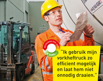 Energy reduction campaign for NL agency / DSM
