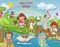 CHARACTER DESIGN: Happy Little Islands