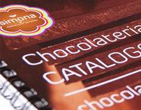 simona chocolateria branding