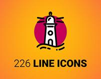 226 LINE ICONS