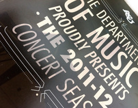 ACU Department of Music Brochure Cover