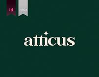 Atticus- Initial Brand Work
