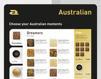 Designconcept instore communication Australian Homemade