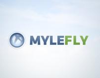 MyleFly logo concept