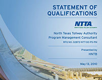 SOQ cover for the North Texas Tollway Authority