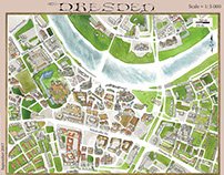 Dresden: An Illustrated Map