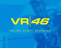 VR|46 Valentino Rossi Store - Redesign Concept