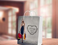 Work - Etichetta Adesiva Borsa (Miriam Abbigliamento)