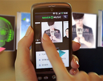 2011 NAVER Music App Promotion