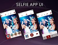 Selfie App UI