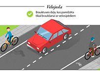 Infographic: Cyclists in road traffic