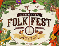 Winnipeg Folk Fest poster