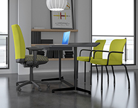 3D visualisation - Workspace + Seat (1)