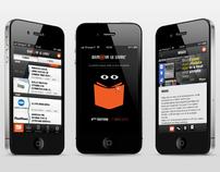 Demain le Livre - iPhone app UX