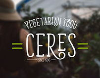 CERES - VEGETARIAN FOOD IDENTITY