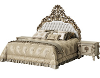 Asnaghi Muss Bed 3d model CGI 2019