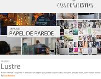 Casa de Valentina -  Blog Redesign