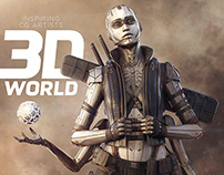 3d World Magazine 197 Mecha Tutorial